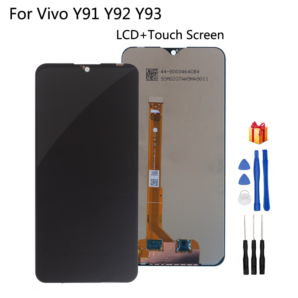 Para BBK Vivo Y91 Y91i Y91c Y93 Y93s Y93st Y95 MT6762 pantalla LCD de montaje de digitalizador con pantalla táctil de reemplazo de partes