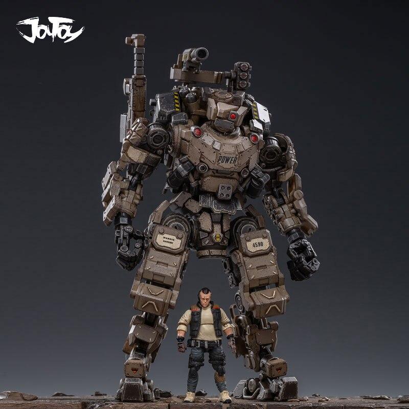 JOYTOY 125 figura robot FSTEEL BONE MECH muñeca modelo militar Mecha regalo de Navidad envío gratis