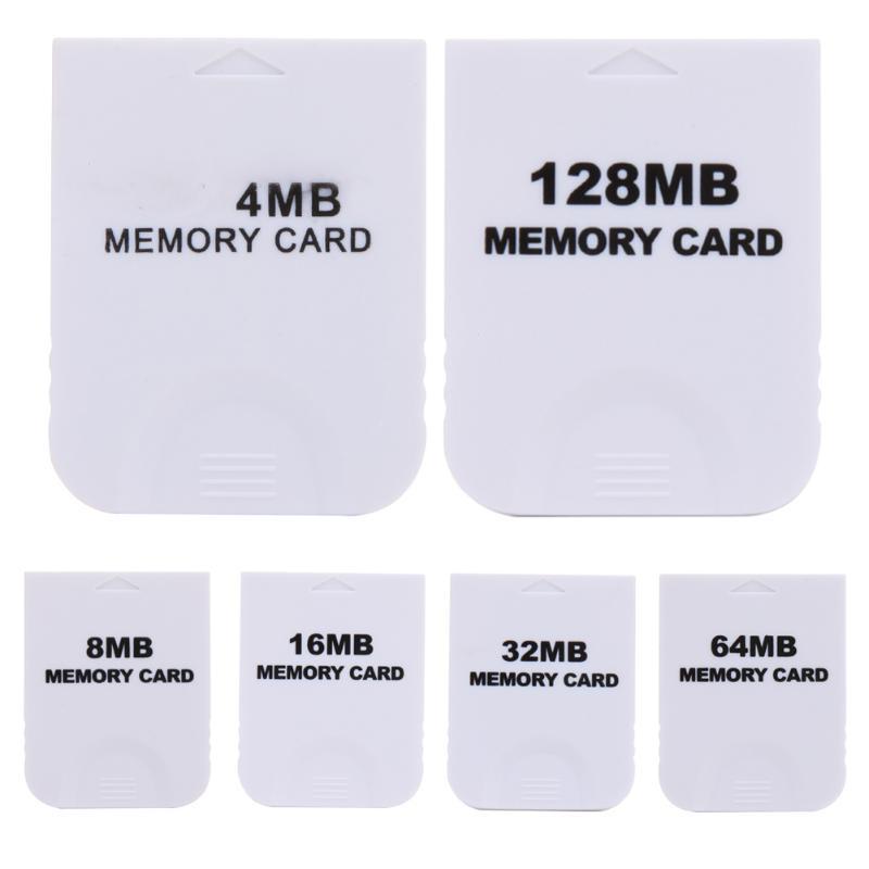 Tarjeta de memoria práctica para Nintendo Wii, Gamecube, GC Game White, nueva tarjeta de memoria para la consola Wii, fácil de usar