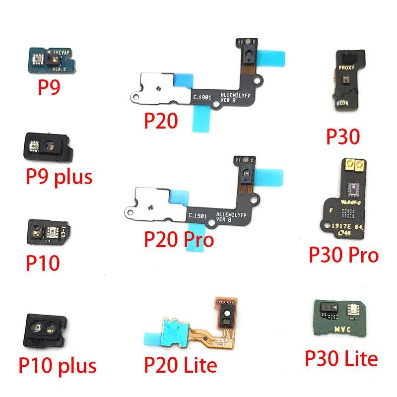 Датчик приближения света гибкий ленточный Соединительный кабель для Huawei P9 P10 Plus P20 P30 Lite Pro замена