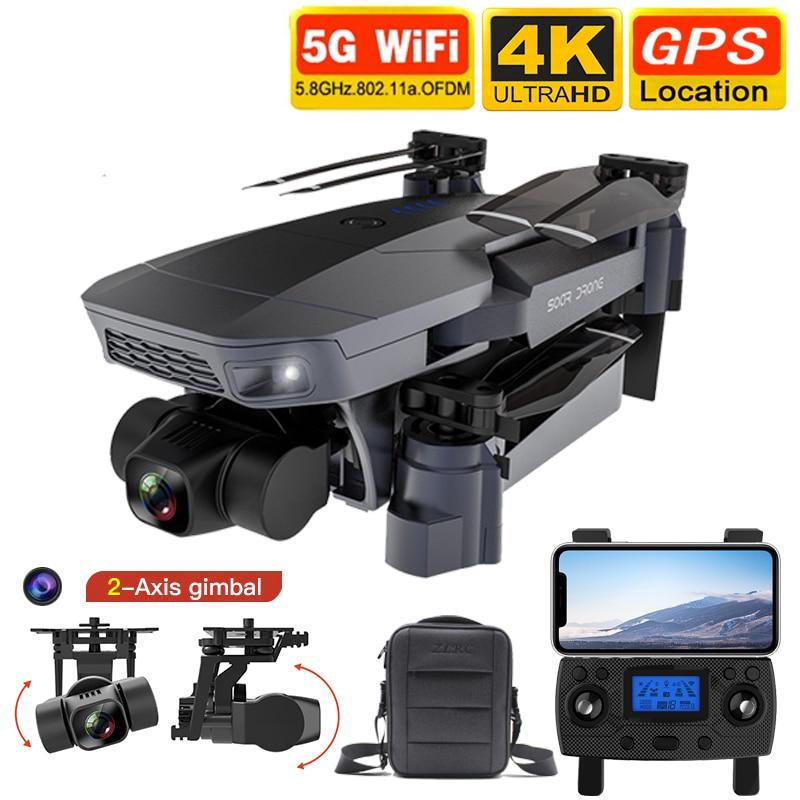2021 جديد SG907 ماكس بدون طيار كوادكوبتر غس 5G واي فاي 4k هد الميكانيكية 3-محور كاميرا ذات محورين يدعم تف بطاقة أرسي طائرات بدون طيار المسافة 800 متر