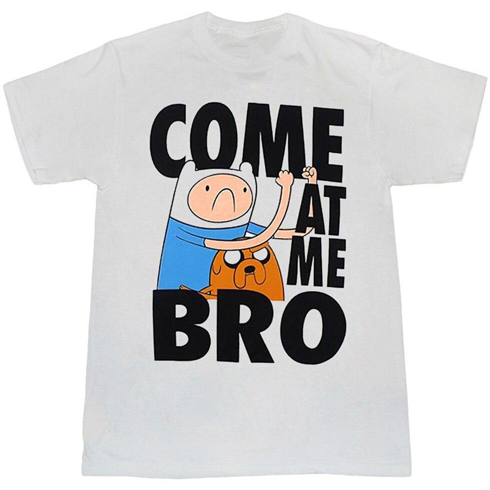 Camiseta Adventure Time Come At Me Bro más tamaño y colores camiseta