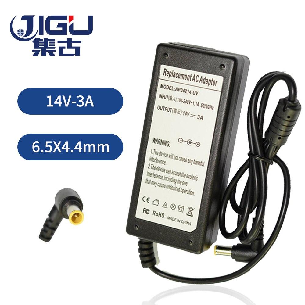JIGU 42W 14V 3A 6,5*4,4 MM reemplazo para Samsung Laptop AC adaptador de corriente de entrada 100-240V envío gratis