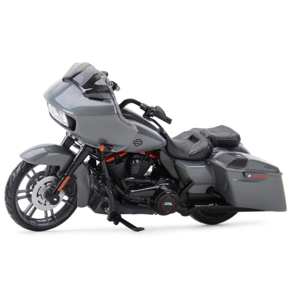 Maisto 1:18 2018 CVO Road Glide Die Cast Vehicles Collectible Hobbies Motorcycle Model Toys