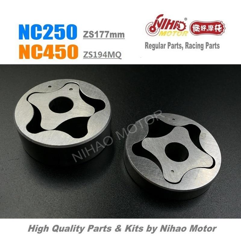 NC-B5 NC250 NC450 Oil Pump Rotor (thick) Zongshen NC 250 Parts ZS177MM RX3 KAYO Motoland BSE Megelli Asiawing 250cc Chinese Moto