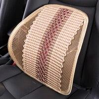 car seat waist cushion office chair massage back lumbar support mesh cushion pad black mesh back lumbar cushion for car driver