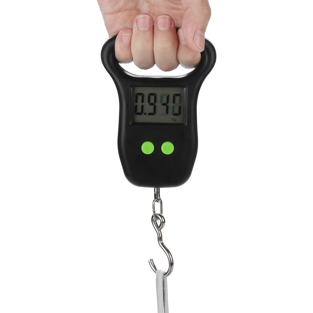 2021tops home deocor 50kg x 10g Digital Scale for Fishing Luggage Steelyard Hanging Electronic Scale home accessories дом