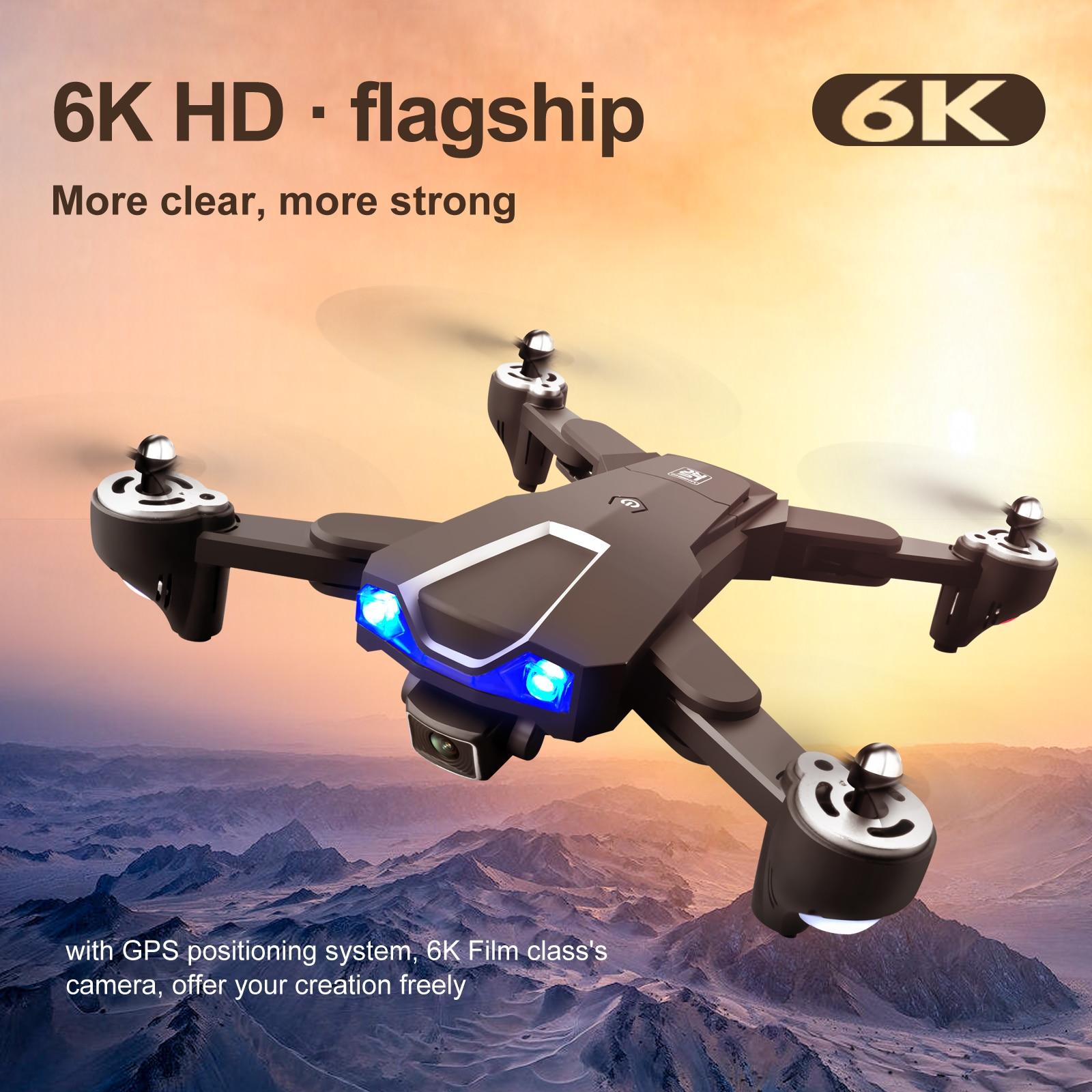 idg LS25 WIFI GPS Drone 8K HD ESC Camera Dual Camera Selfie Mode Follow Me Image Real-Time Transmission Foldable RC Quadcopter enlarge