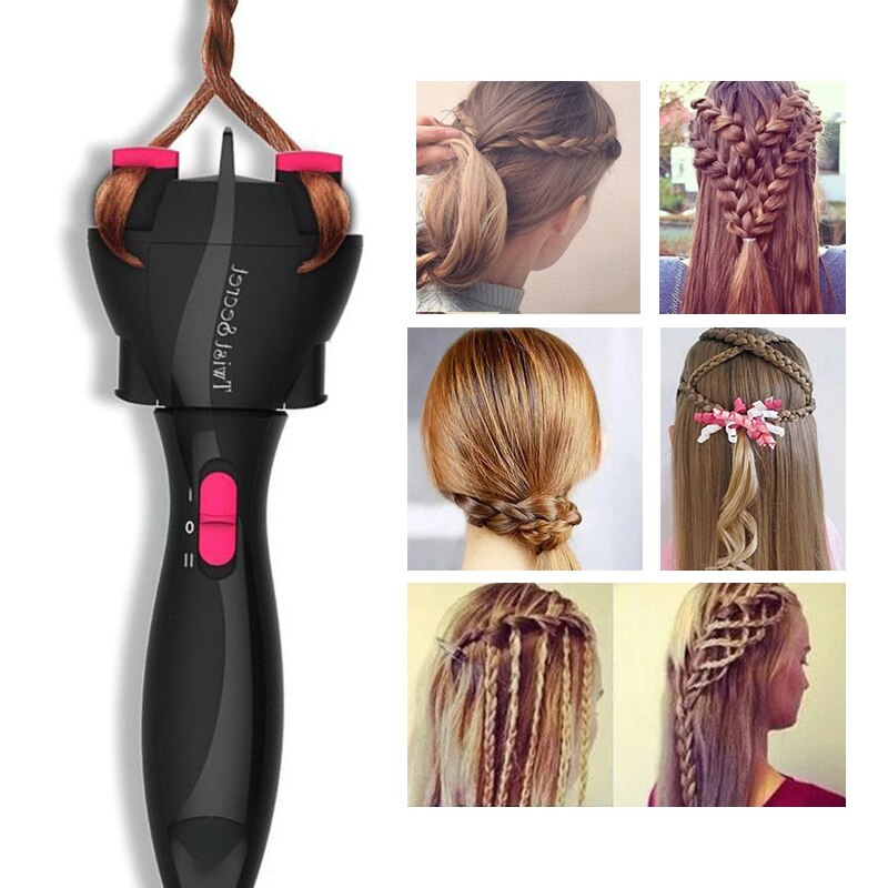Automatic Hair Braider Electric Twist Braider Styling Braiding Machine Quick Braid Tool Hair Styling Tool