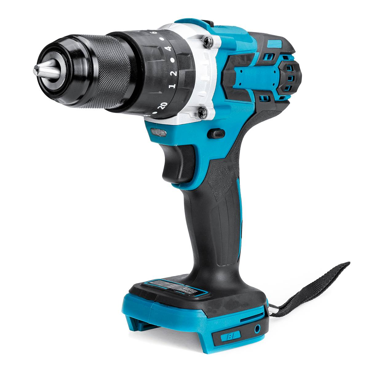 18V Brushless Electric Screwdriver Cordless Drill 120 NM Torque Impact Drill Without Battery Suitable for Makita Battery