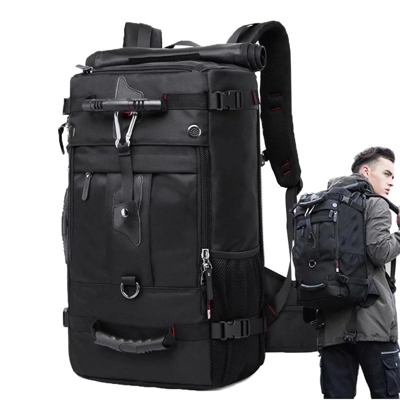 مقاوم للماء 17.3 محمول على ظهره الرجال سعة كبيرة في الهواء الطلق حقيبة سفر عالية الجودة حقيبة الأمتعة متعددة الوظائف حقائب الأعمال