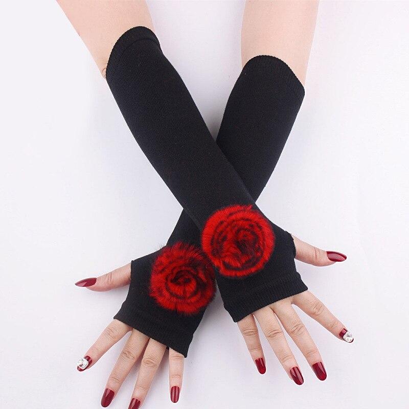 Удобные и приятные для кожи чехлы на руку для одежды, модные красивые теплые мягкие чехлы на руку из кроличьего меха