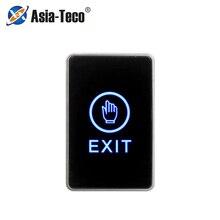 Bouton de dégagement bouton de sortie tactile bouton Eixt porte avec indicateur LED pour la Protection de sécurité à la maison pour le système de contrôle daccès