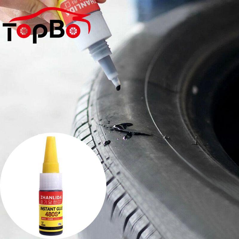 20 мл, Автомобильные клеи, резиновые уплотнители для ремонта шин, супер герметик, ремонт велосипедных шин, автомобильные клеи, клей для уплот...