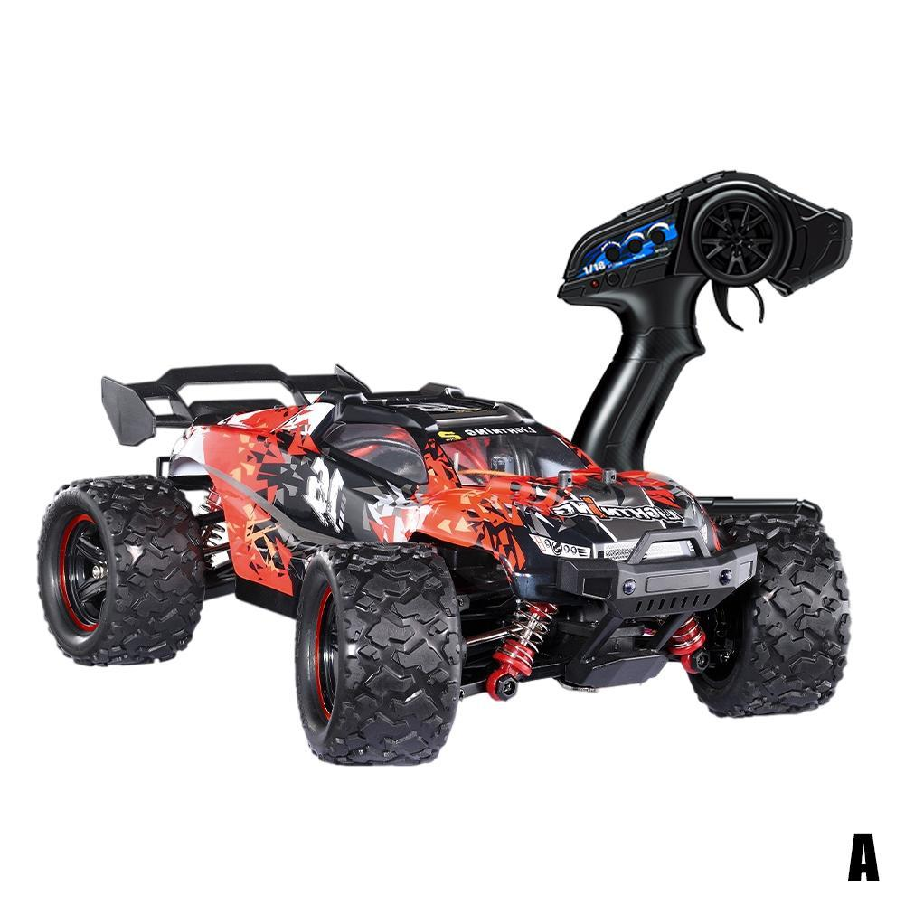 Eachine eat10 rc car 1:18 brushless / brushed 4wd high speed truck 42 km / h all terrain electric off road model vehicle enlarge
