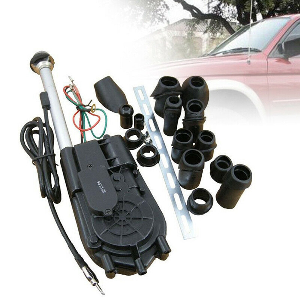 Kit de reemplazo de antena de alimentación automática de coche AM / FM Kit de antena de potencia de Motor para Mercedes Benz W140 W126 W124 W201 DC12V