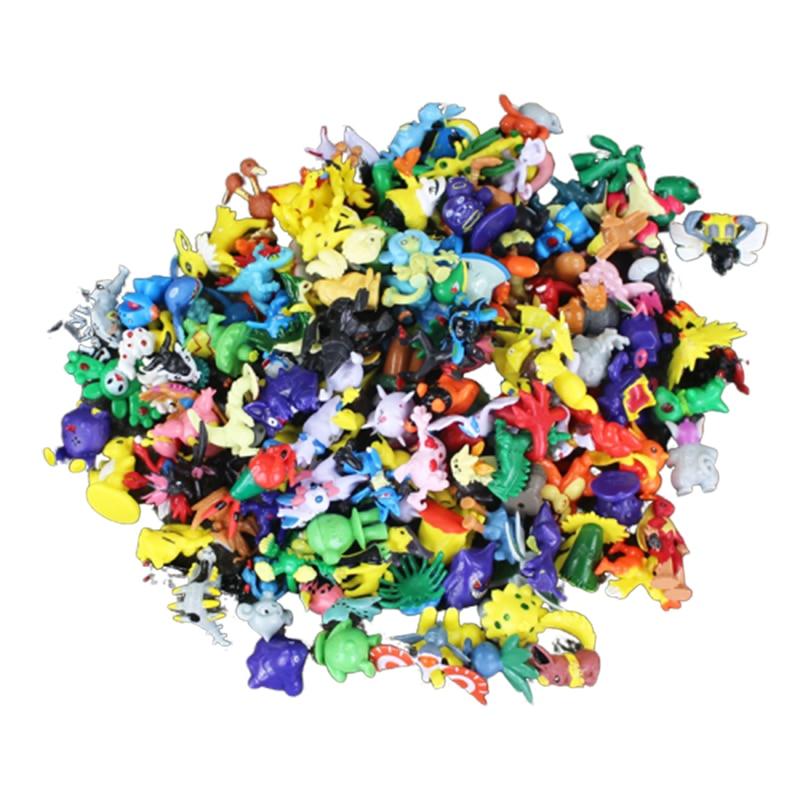 144 шт./лот мини виниловые фигурки Lote Miniatura фигурки роботы игрушки Electabuzz Raticate Pidgeotto Eevee Vaporeon Jolteon игрушки