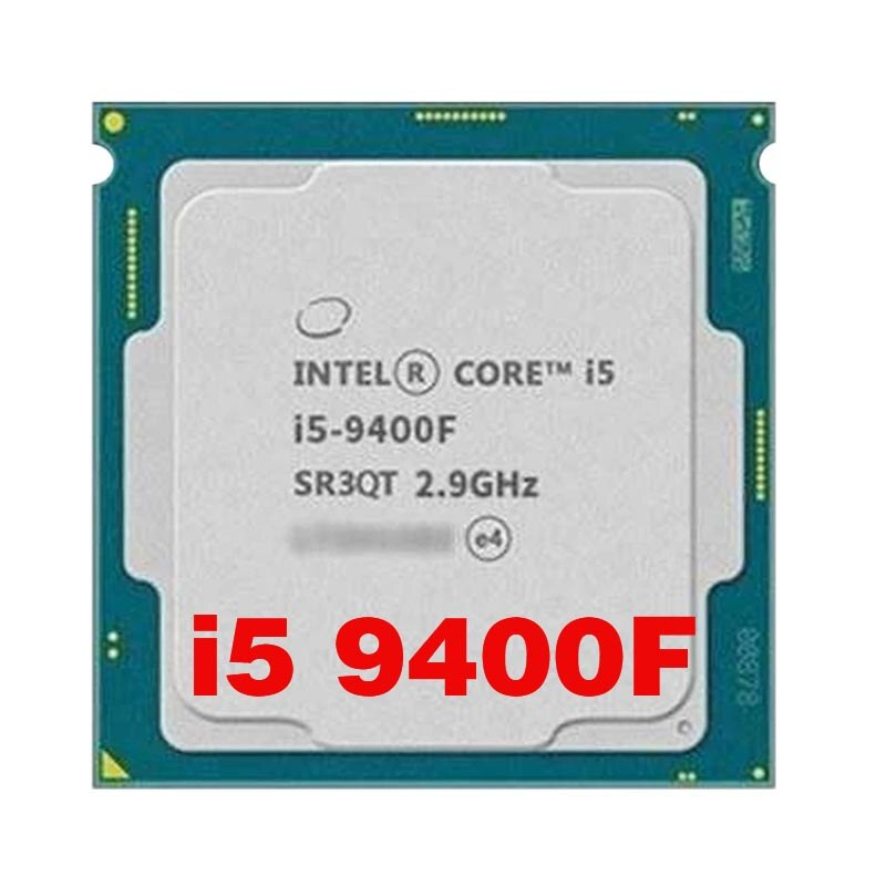 معالج Intel Core I5 9400F سداسي النواة بستة خيوط i5 9400F 6-Core 6- Threads 9M مقبس LGA 1151