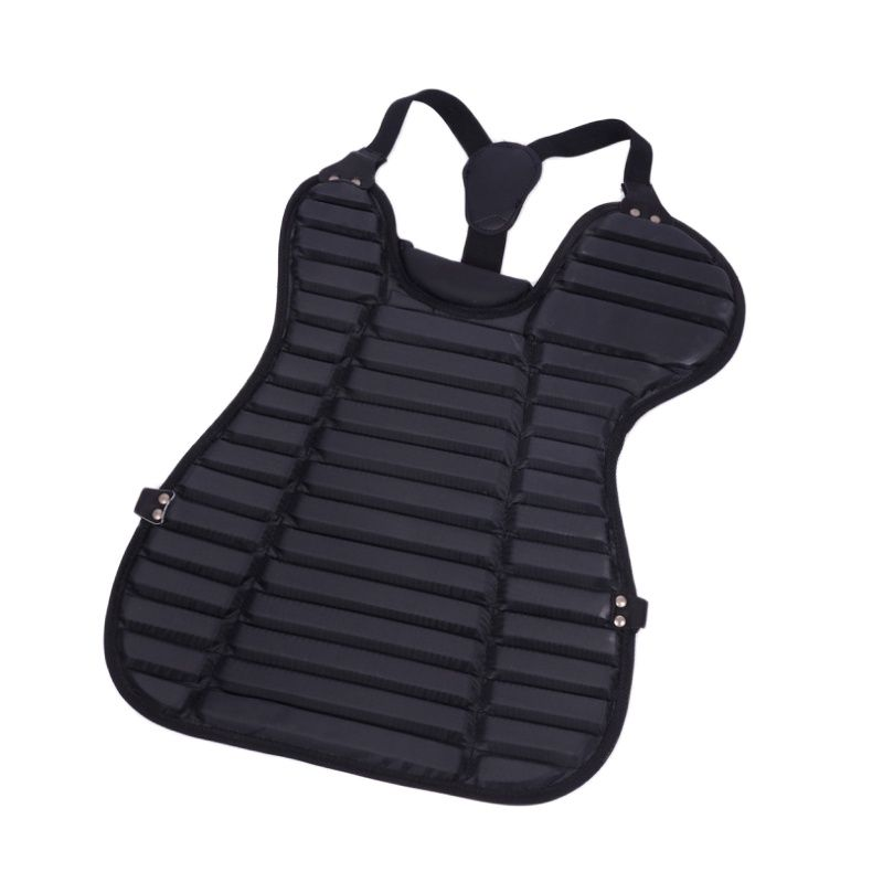 High quality PVC material light weight baseball catcher to take over the adult youth baseball chest protector