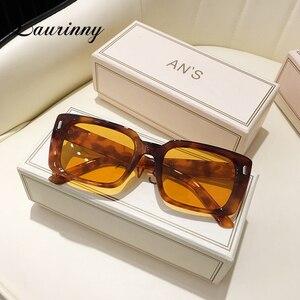 Vintage Rectangle Women Sunglasses 2021 Brand Design Rivet Trendy Frame Outdoor Lady Sun Glasses ClassicTravel Men Shades Female