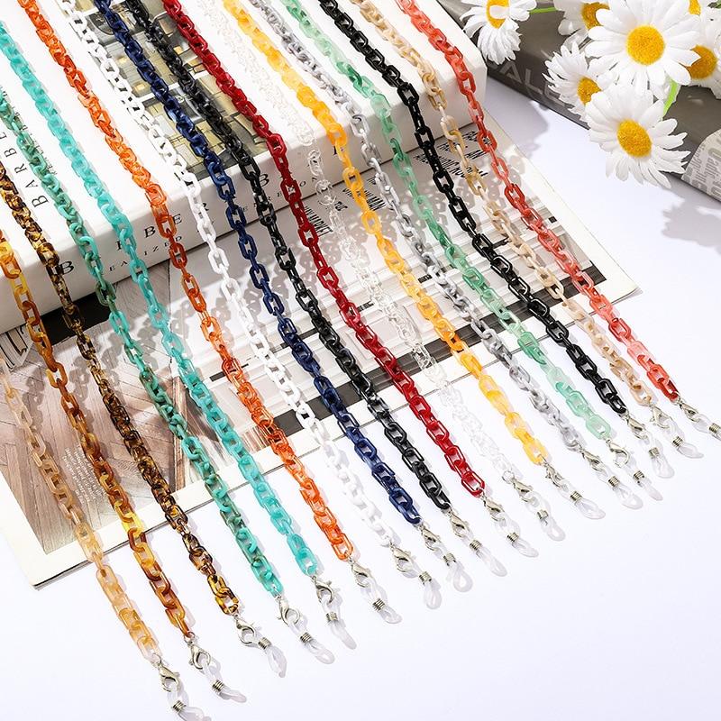 Новое-акриловое-стеклянное-цепи-Для-женщин-богемные-Цвет-Смола-Маска-цепи-largand-цепочка-для-солнцезащитных-очков-для-очков-держать-ремешки-ш