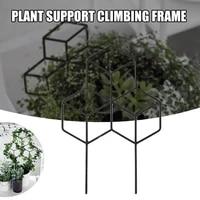 artificial mini climbing plant support iron plant support frame with garden support climbing tool pi669