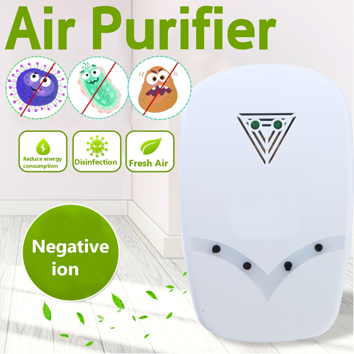 Ozone Generator 220V Anion Sterilizer Air Purifier Home Deodorizer Purification Smoke Formaldehyde O