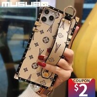musubo brand square wrist strap phone case for samsung galaxy a51 a71 5g a10 a20 a30 a40 a50 s funda shockproof soft cover girls