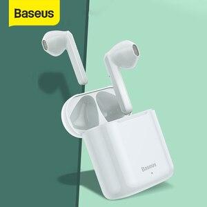 Baseus W09 наушники-вкладыши TWS с Беспроводной Bluetooth наушники интеллигентая (ый) сенсорный Управление Беспроводной наушники-вкладыши TWS наушники...