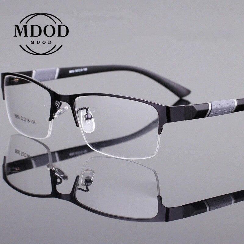 -1-1,5-2,0-2,5-3,0-3,5-4,0-4,5-6 gafas de lectura para hombres y mujeres gafas de medio marco dioptrías hombres de negocios gafas de lectura