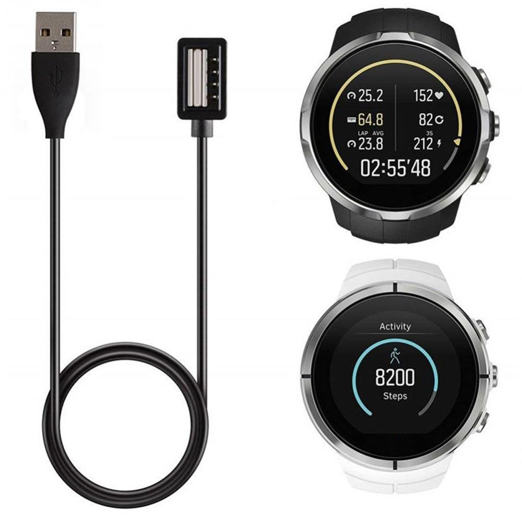 Smartwatch reloj inteligente portátil extraíble USB Cable cargador de carga para SUUNTO SPAR TAN / 9 Relojes