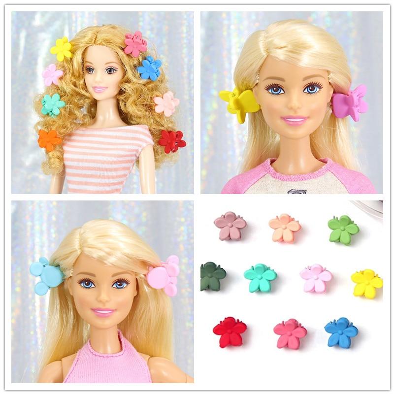 20 unids/pack de colores de caramelo clip de pelo/sombreros accesorios para el...