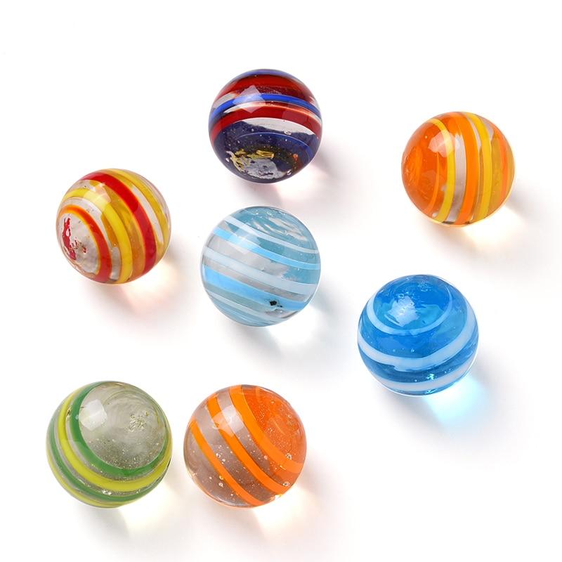 7 шт., стеклянные шарики, 20 мм