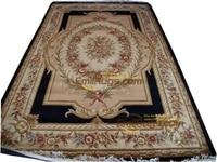 carpet handmade floral Vintage Belgian Brown Fashionable Household Decoration Mat New