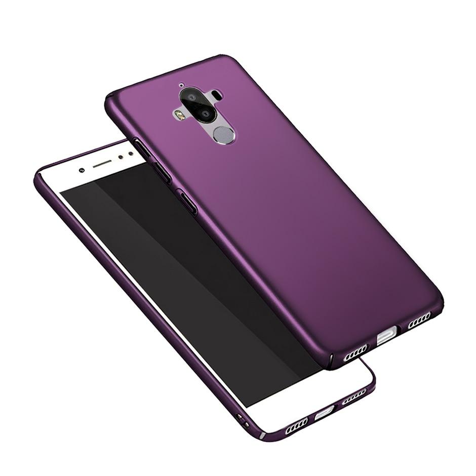 Fosco Caso Capa Dura Para Huawei Companheiro 9 MHA-L29 Ultra Slim Plastic Capa Protetora Para Huawei Companheiro Mate9 9 lite BLN-L22