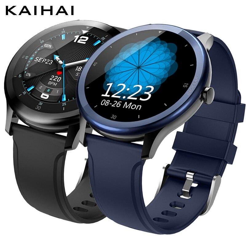 Rastreador de Fitness Monitor de Freqüência Ip68 à Prova Kaihai Água Relógio Inteligente Homem Mulher Smartver Relojes Relógios Men Swim Cronômetro Cardíaca Dip68