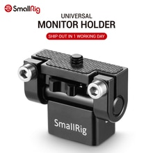 SmallRig 조정 가능한 DSLR 모니터 홀더 마운트 안티 트위스트 미니 틸트 팬 카메라 모니터 LCD 화면 1842