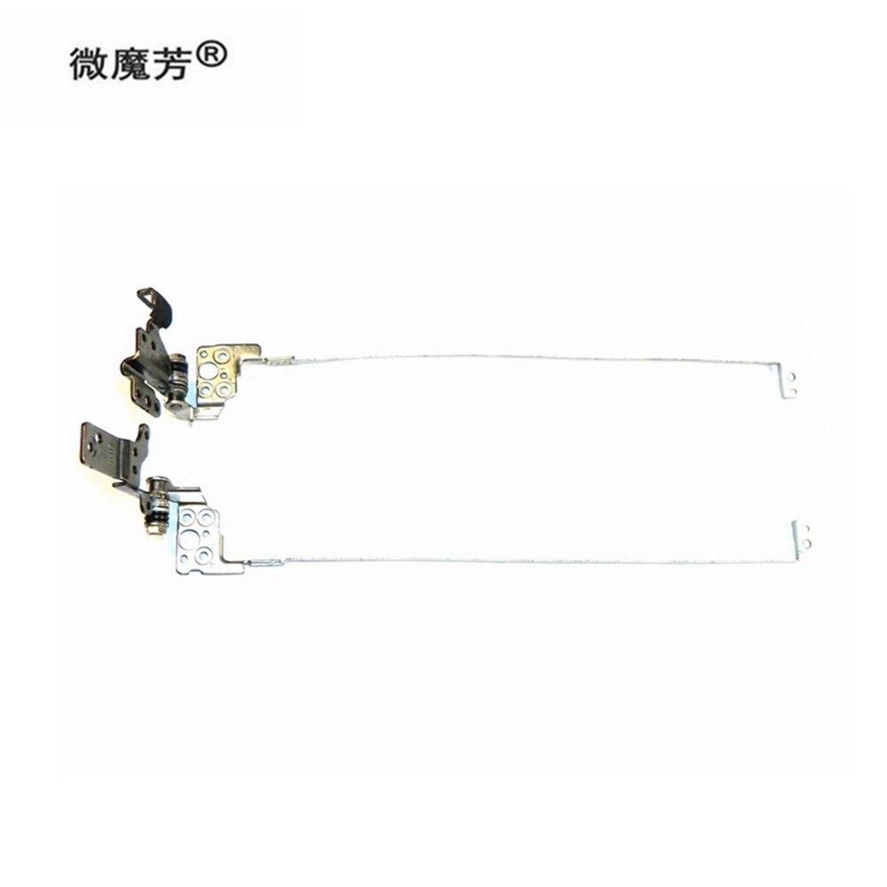 Portátil lcd dobradiças kit para asus x550d x550dp k550d k550za x550za x550z esquerda & direita dobradiça conjunto 13n0-ppm0201 13n0-ppm0301 conjunto de dobradiça