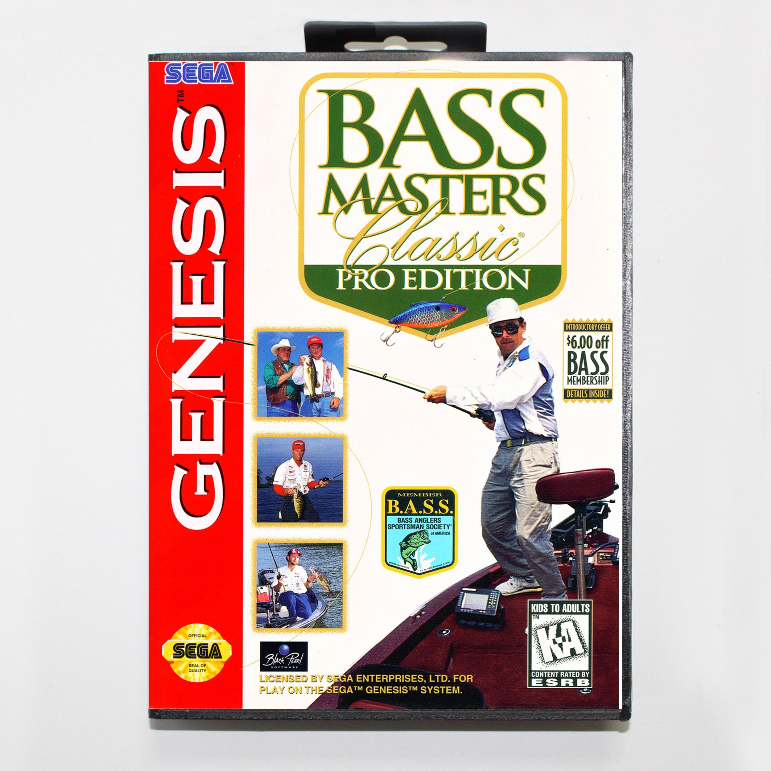 Bass Master-Edición clásica Pro, con caja de venta al por menor, tarjeta...