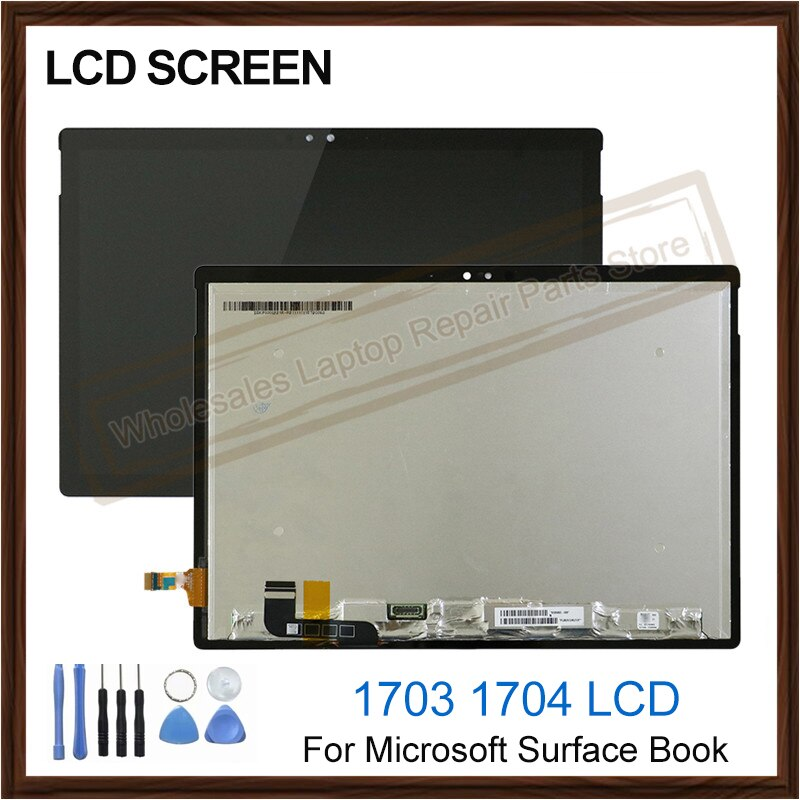 Pantalla LCD Original nueva de 13,5 pulgadas para Microsoft, superficie de portátil, pantalla LCD 1703 1704, ensamblaje digitalizador de pantalla táctil de cristal