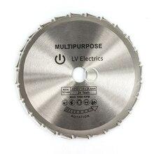 1 pièces 210mm bois coupe métal lames de scie circulaire 24T pour carreaux céramique bois aluminium disque diamant lames de coupe