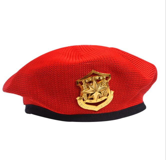 2020 neue Gestrickte Kapitän Kappe für Frauen Partei Cosplay Berets Weibliche Häkeln Militär Hüte Stern Flache Kappe Casquette Navy Kappe