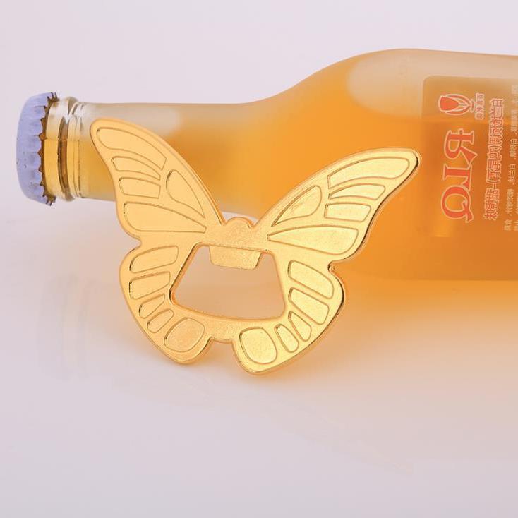 Abridor De Botellas De Vino Con Forma De Mariposa De Oro 50...