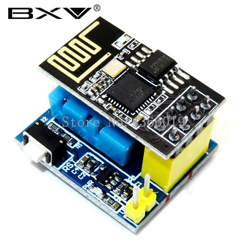 ESP8266 ESP-01 ESP-01S DHT11 Módulo Sensor de Umidade Temperatura NodeMCU ESP8266 WI-FI de Casa Inteligente IOT DIY Kit