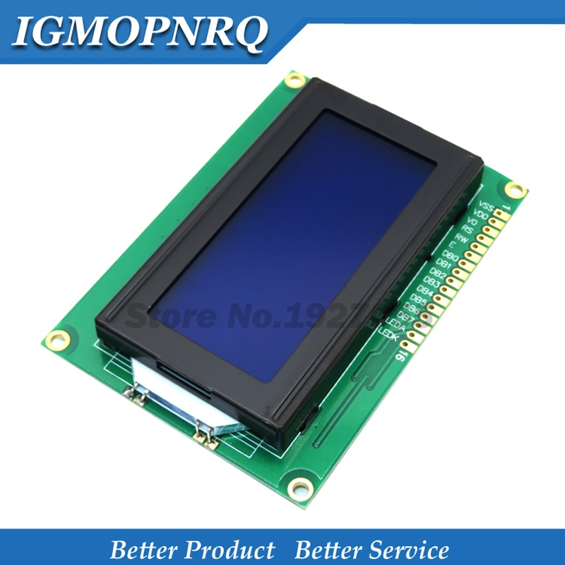 Lcd 16X4 1604 Karakter Lcd Display Module Lcm Blauw/Geel Blacklight 5V