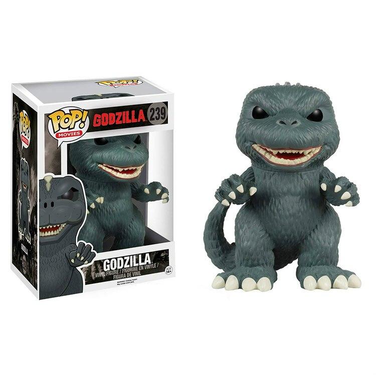 Funko POP Godzilla Dinosaur Movie Collection Model Toys PVC 2020 Action Figure Kids Toy