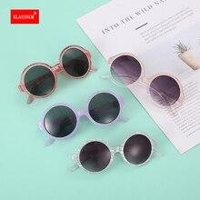 1PCs Fashion Retro Round Kids Sunglasses Boys Girls Sun Glasses Vintage Chirldren Sunglasses Colorfu