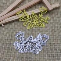 flowers cut die metal cutting dies mold invitation scrapbook embossing paper craft knife mould blade punch stencils dies