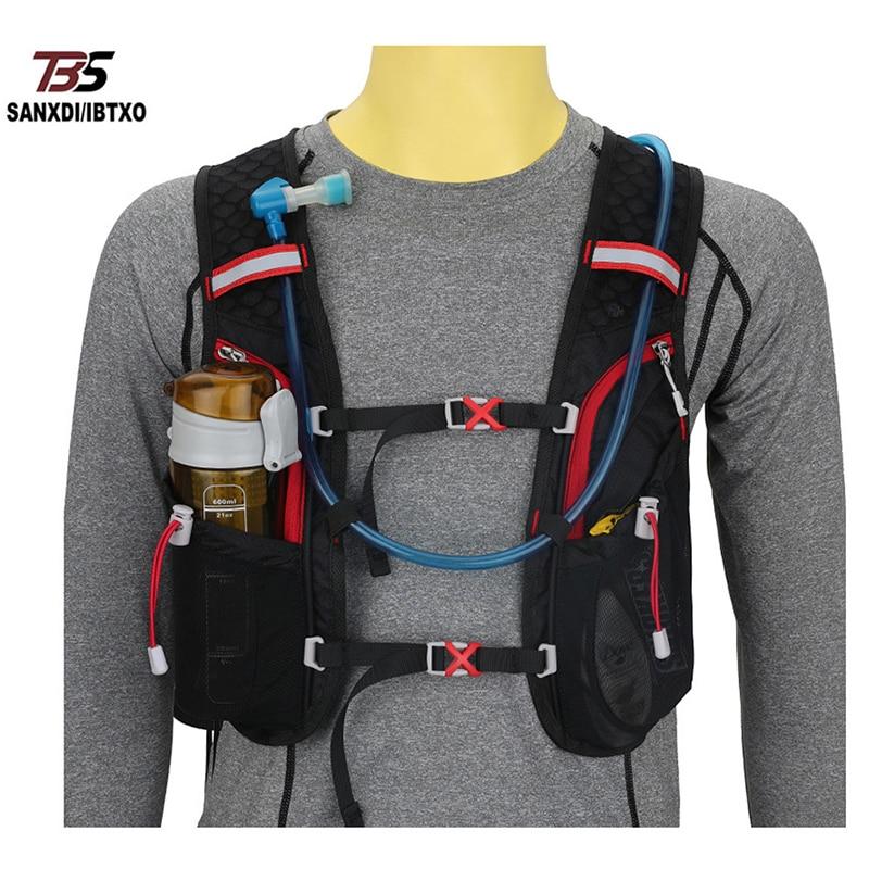 Унисекс, спортивная сумка-жилет для бега, велоспорта, рюкзак для занятий спортом на открытом воздухе, тренажерного зала, бега, бега, велосипе...