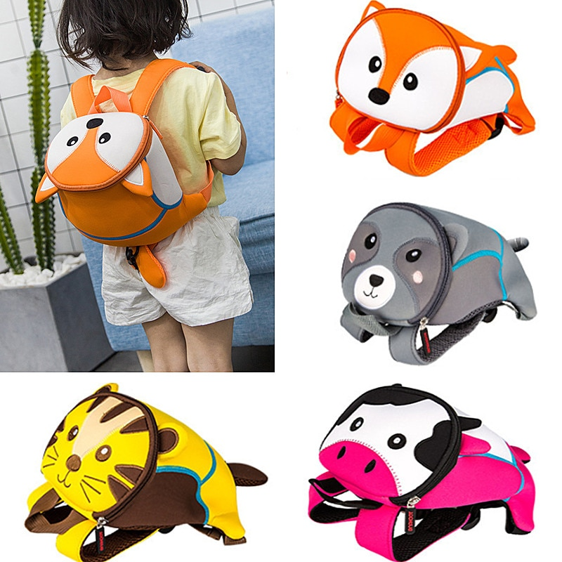 Mochilas anti-perdida de dibujos animados para niños, mochila escolar para guardería, mochila de animales para niños, mochilas escolares para niños y niñas, 2020